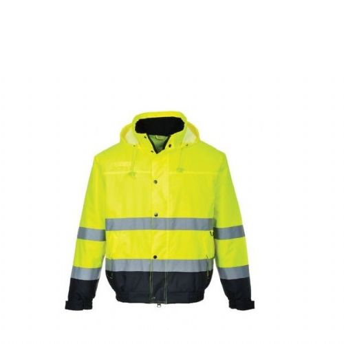 PORTWEST S266 Two Tone Hivis Bomber Jacket (EN471 Class 3)
